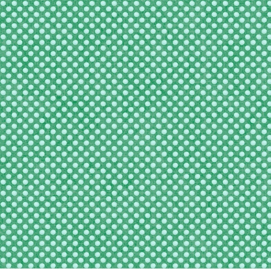 Studio E - Holly Jolly - Mint Dots