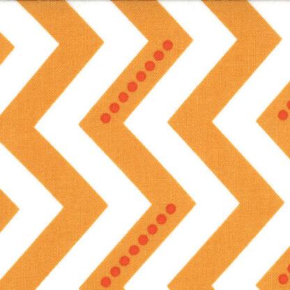Moda Fabrics, Simply Color, Chevron Orange