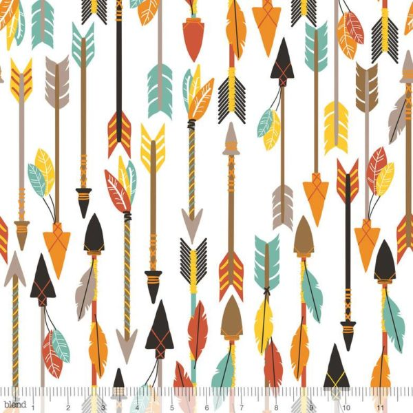 Blend, Luckie, Quills & Arrows White