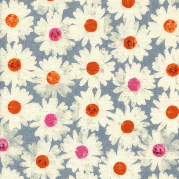 Cotton + Steel - Trinket - Happy Garden Frost in DOUBLE GAUZE