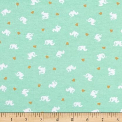 Michael Miller – Magic! – Baby Dragons Turquoise in KNIT