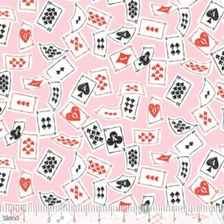 Blend - Wonderland - Deck of Cards Pink