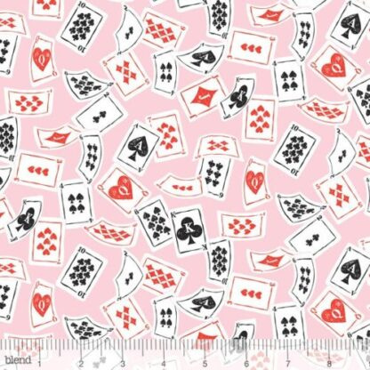 Blend - Wonderland - Deck of Cards Pink