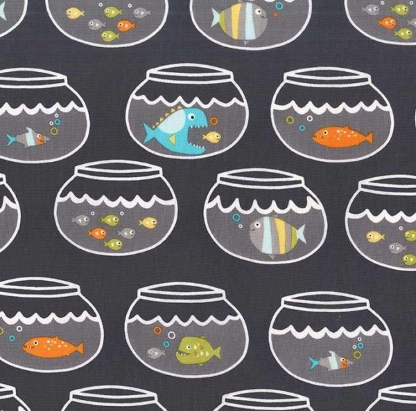 Michael Miller - Guppies for Lunch - Swimming in Circles