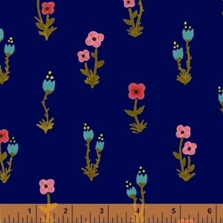 Windham - Meriwether - Folk Fleur Blue