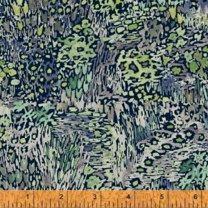 Windham - Enchanted Forest - Full Bloom Navy