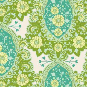 Tilda Fabrics - Sunkiss - Charlotte Teal