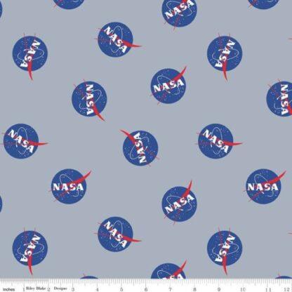 Riley Blake - Out of this World with NASA - Logo Main Grey