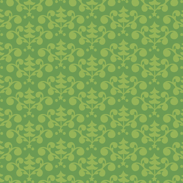 Blend - Even A Mouse - Tree Damask Green