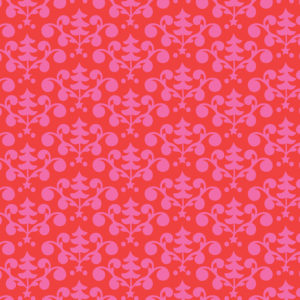 Blend - Even A Mouse - Tree Damask Red