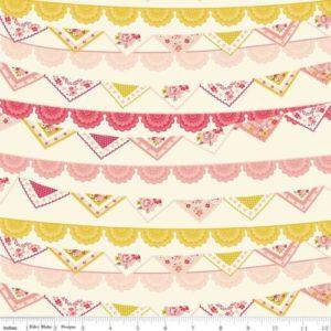 Riley Blake - Vintage Daydream - Banner Cream