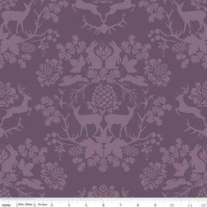 Riley Blake - Organica - Damask Purple